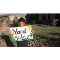 Garage sale advertising - 14 year old