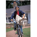 Newspaper delivery-person - 14 year old